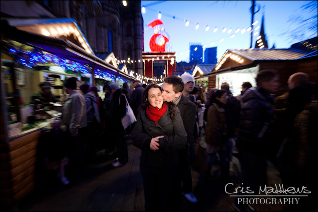 Manchester Christmas Markets - Wedding Photography