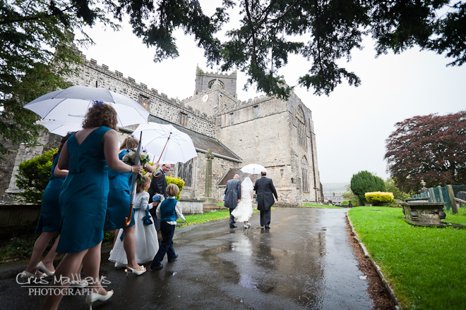 Cartmel Priory & Racecourse Wedding Photography (6)