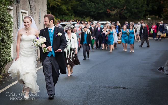 Cartmel Priory & Racecourse Wedding Photography (16)