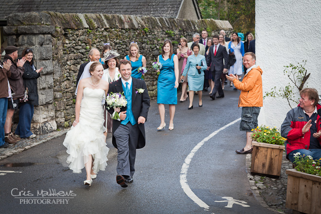 Cartmel Priory & Racecourse Wedding Photography (17)