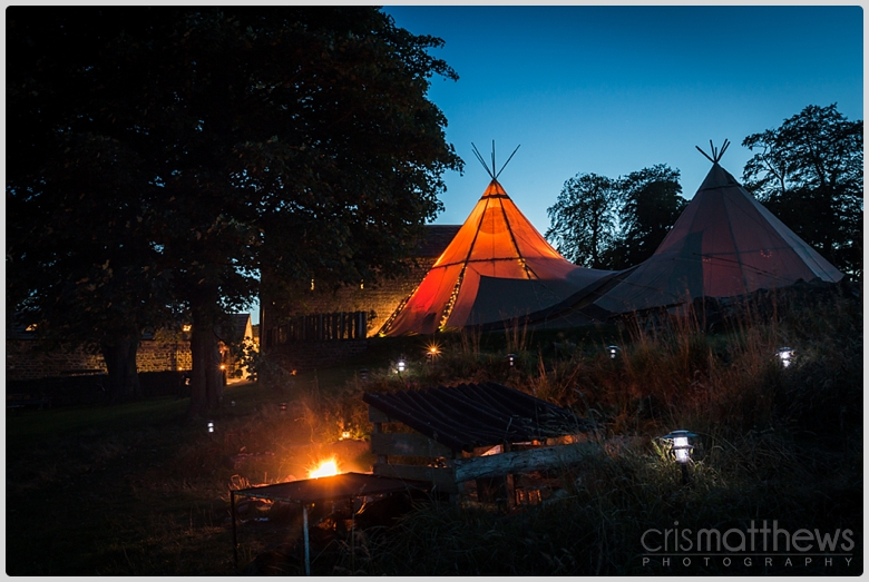 Papakata tipi wedding