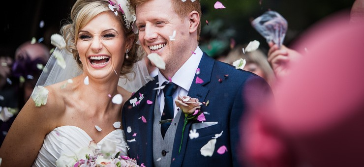 Laura & Dale - Nunsmere Hall Hotel Wedding Photography