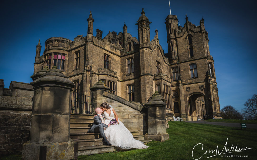 Allerton Castle Wedding Photography – Rebecca & Phil