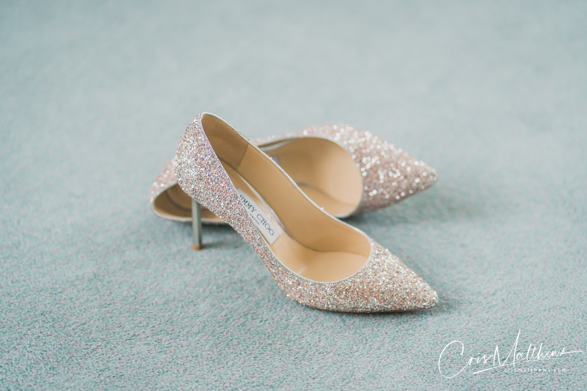 Shoes at Hawkstone Hall Wedding Photography
