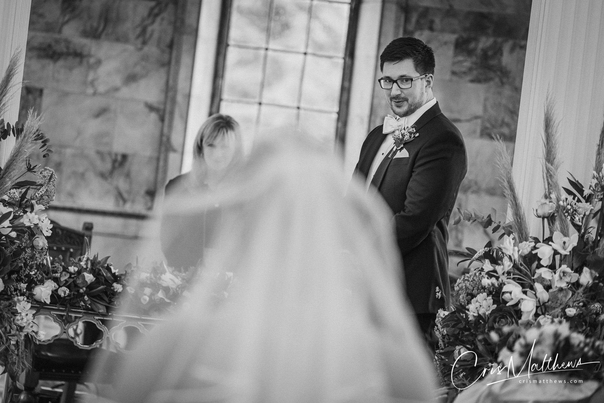 First Sight at Hawkstone Hall Wedding Photography