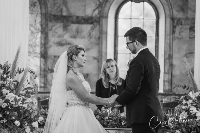 Ceremony at Hawkstone Hall Wedding Photography