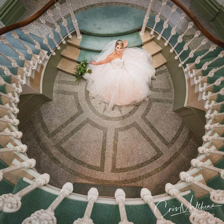 Bridal Shot at Hawkstone Hall Wedding Photography