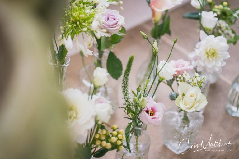 Flowers at Hawkstone Hall Wedding Photography