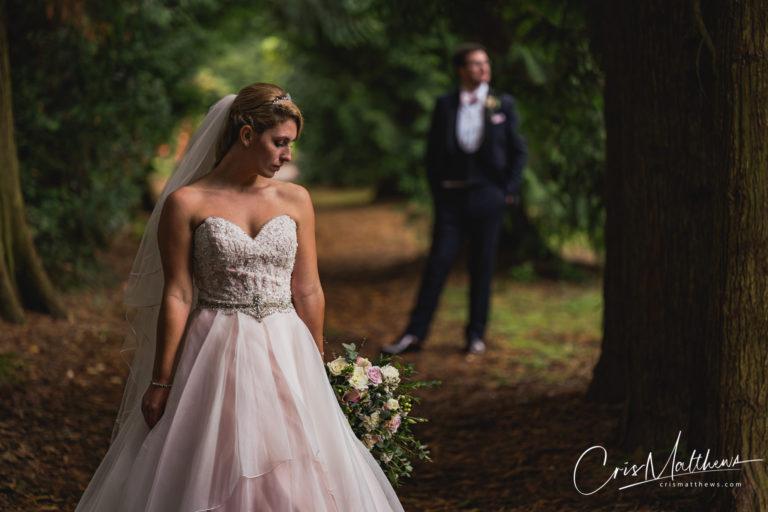 Woodland at Hawkstone Hall Wedding Photography