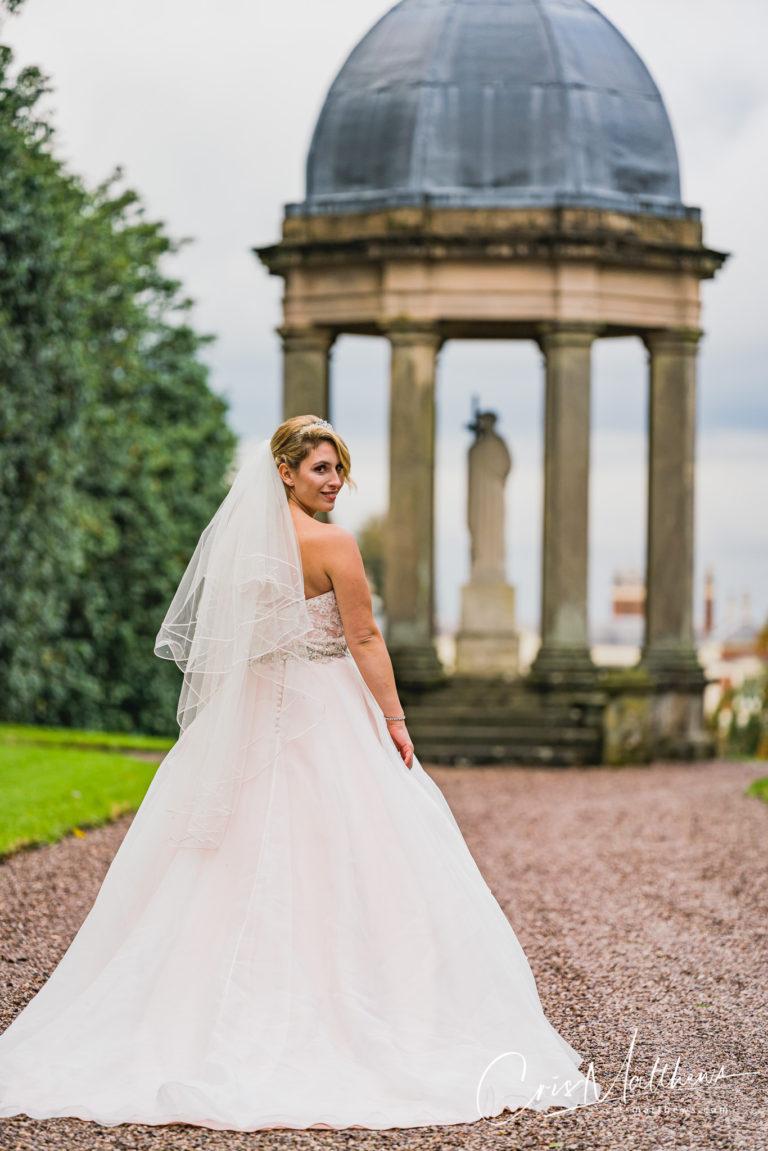 Stunning Bride at Hawkstone Hall Wedding Photography