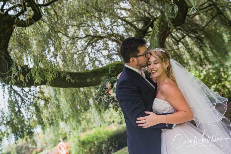 Willow Tree at Hawkstone Hall Wedding Photography