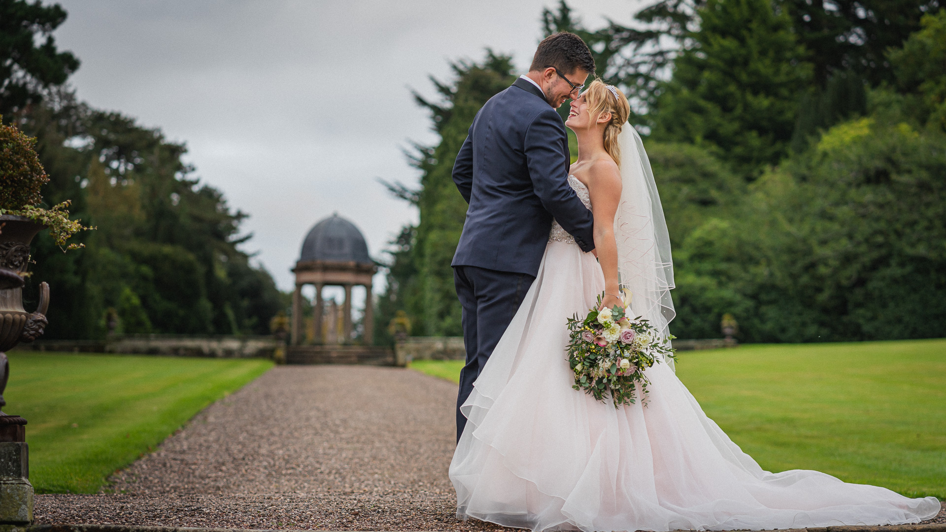 Hawkstone Hall Shropshire Wedding Photography