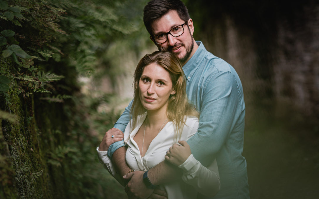 Shropshire Wedding Engagement Shoot – Jess & Ben